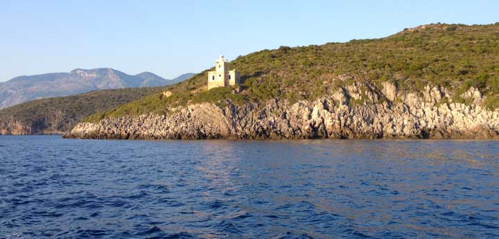 The Lighthouses of Messinia